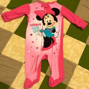Minnie Mouse Footie